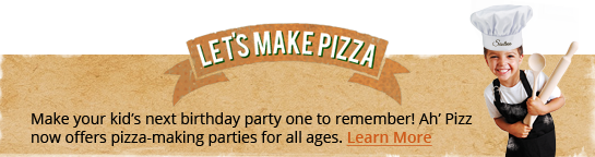 Ah' Pizz Kids Pizza-Making Parties Montclair Denville NJ