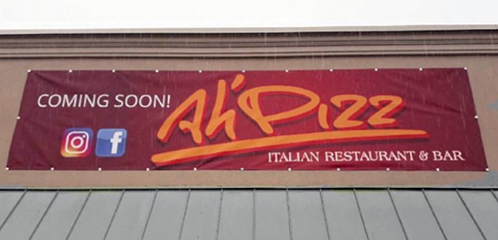 Ah' Pizz Coming to Wayne, NJ