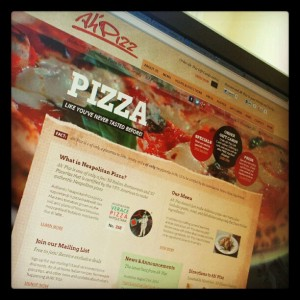 New Ah' Pizz Website