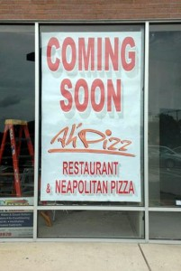 Ah' Pizz Denville NJ Coming Soon